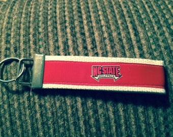 North Carolina State Wolfpack Keychain