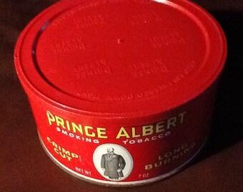 Vintage Prince Albert Smoking Tobacco tin.