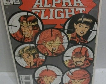 1994 Alpha Flight #129 January No Future Part 2 Of 3  VF-NM Unread Vintage Direct Edition Marvel Comic Book