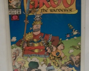 1992 Sergio Aragone's Groo The Wanderer #91 July VG-Fine Unread  Vintage Marvel Comic Book