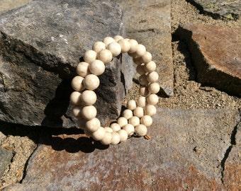 Desert Jasper wrap bracelet