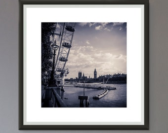 EXTRA 50% OFF Multiple Purchases Instant Download Printable Art Photographic Print Black and White London Photo