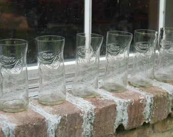 Set of 6 Bud Light with Lime glasses