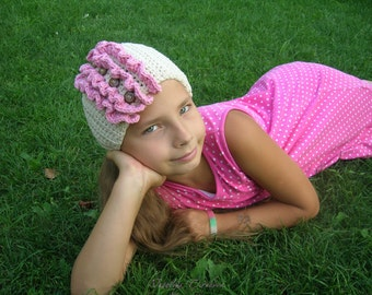 Girls Crochet Headwrap/Headband
