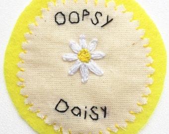 Oopsy Daisy Handmade Patch