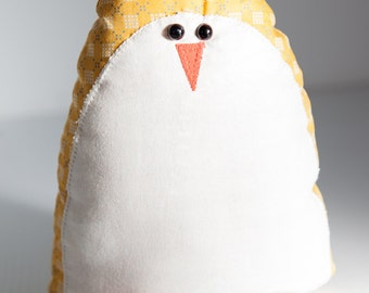 Soft Toy Penguin,Yellow, Softie, Gift idea for niece or nephew