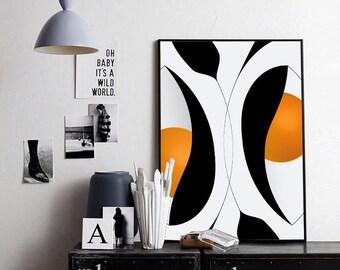 Digital Art Download, Printable Abstract Art, Instant Download, Printable Wall Art, Digital Art Download, Abstract Art, JPEG Download Print