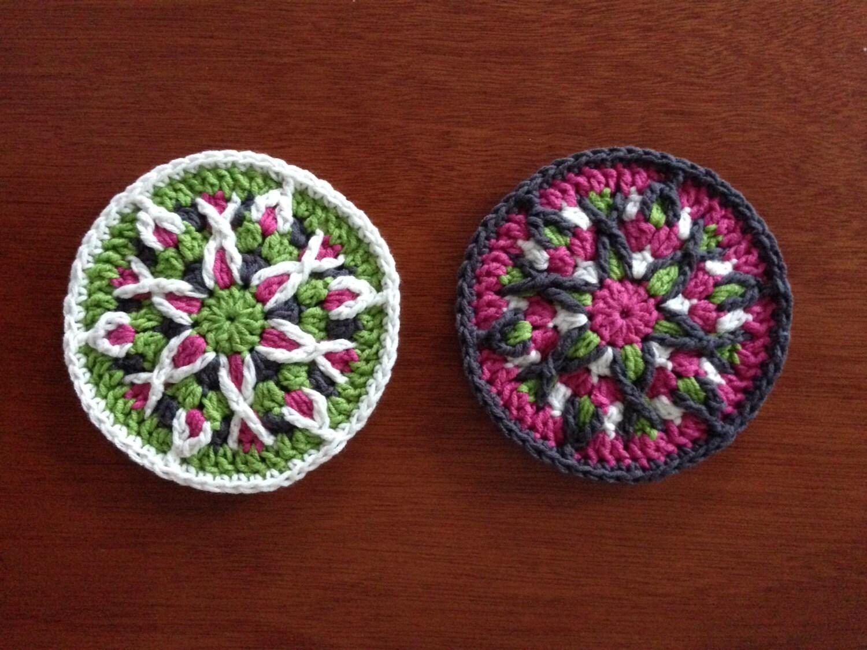 Crochet Mandala Coaster Pattern Tutorial Crochet By