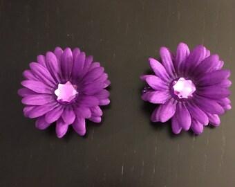 Flowers clip (1 pair)