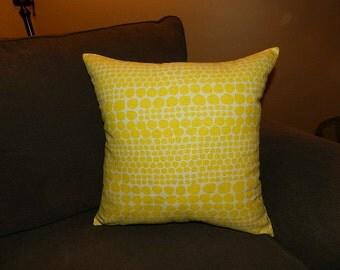 7 Sizes Available - Nate Berkus Ameil Dot Paramount Citrus Pillow Cover