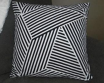 7 Sizes Available - Nate Berkus Ondine Paramount Onyx Pillow Cover