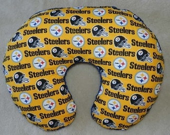 Pittsburgh Steelers  Boppy Cover with Minky Royal