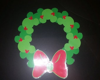 disney cruise door decor wreath