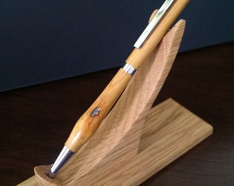 Hand turned Slimline writing pen