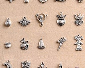20 pcs Charms  Tibetan silver  jewelry accessories bracelet  necklace -BMS 041