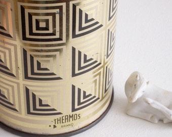 Retro 60s Thermos flask