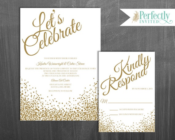 celebrate invites