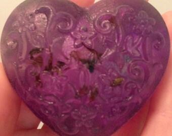 Floral Heart Soap