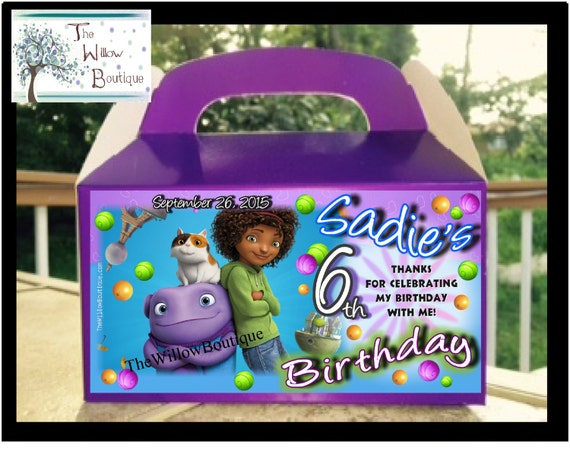 Dreamworks Home BIRTHDAY PARTY Assorted Products Personalized with ...