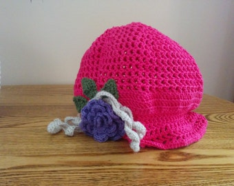 Cute Flower Cap