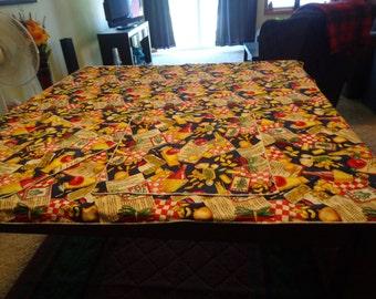 Handmade Italian Tablecloth with Napkins