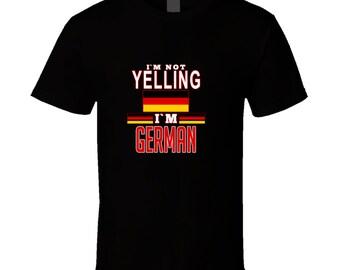German Yelling T Shirt