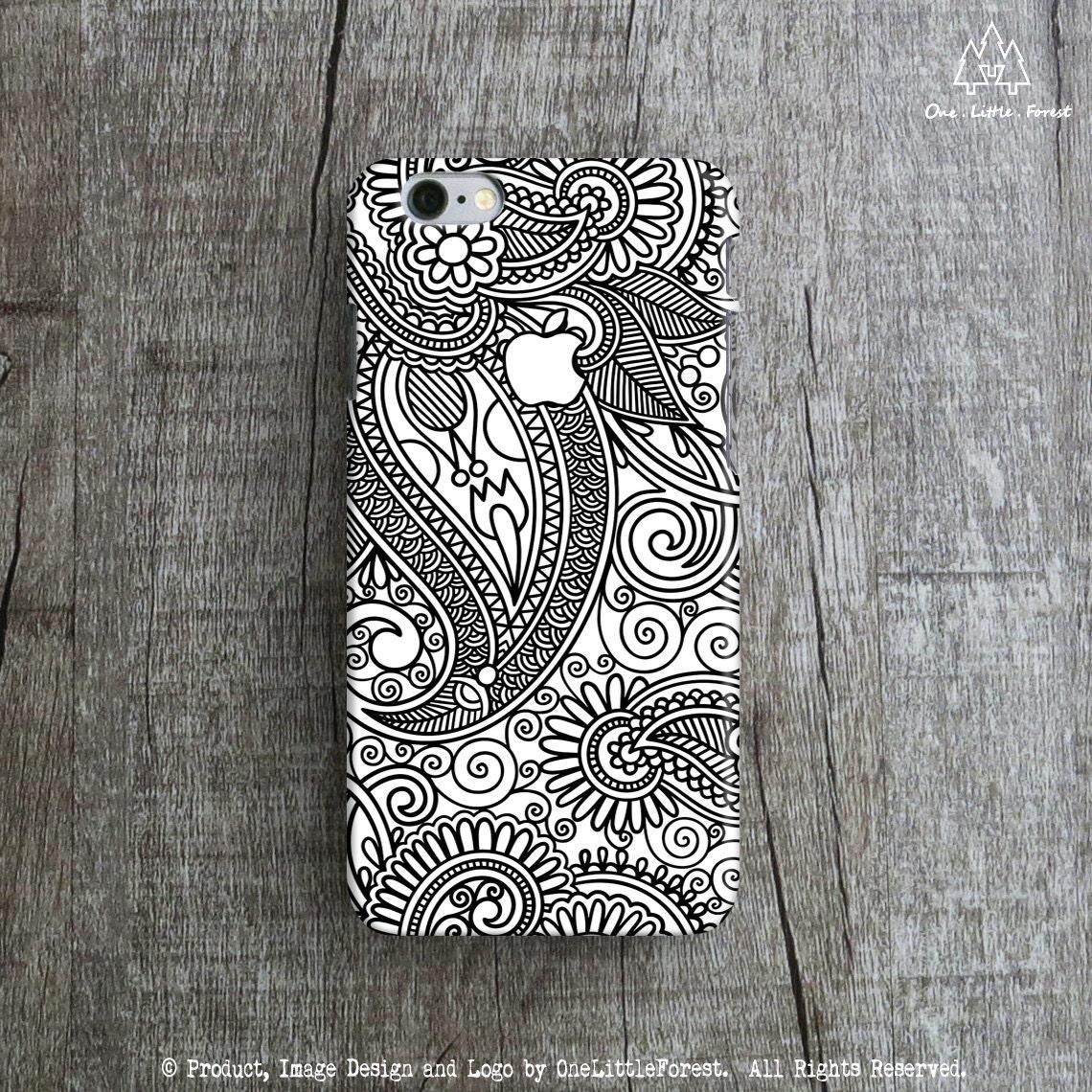 HENNA ART APPLE IPhone 6 Case Tribal IPhone 6 Case Pattern