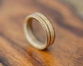Zebrano Bentwood Ring