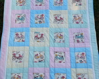 Your theme/your colors baby or lap quilt