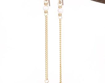 Tourmaline 14k Gold Filled Earrings