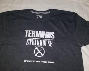 Terminus Walking Dead Shirt