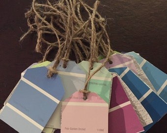 Recycled Paint Sample Tags With Seed Paper (14pk)