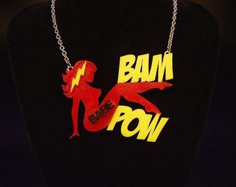 """Necklace:  """"Bam-Pow"""""""