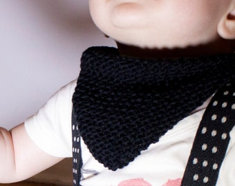 Made to order: bib/bandana knitted cotton