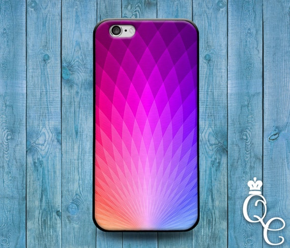 iPhone 4 4s 5 5s 5c SE 6 6s 7 plus + iPod Touch 4th 5th 6th Gen Blue Pink Purple Hexagon Artistic Cover Fun Cute Pretty Modern Phone Case