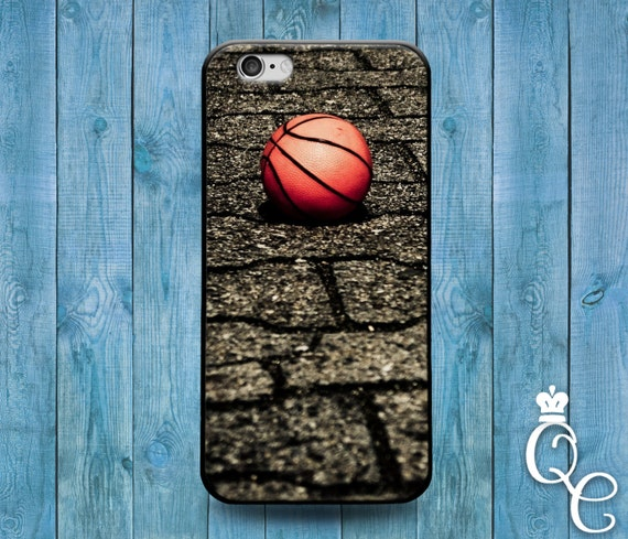 iPhone 4 4s 5 5s 5c SE 6 6s 7 plus iPod Touch 4th 5th 6th Generation Cool Sporty Sport Basketball Court Orange Ball Cover Cute Athlete Case