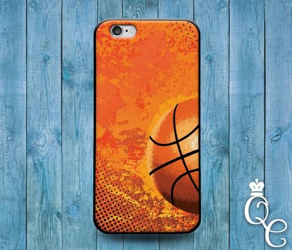 iPhone 4 4s 5 5s 5c 6 6s 7 plus SE iPod Touch 4th 5th 6th Gen Cool Phone Custom Cover Orange Ball Basketball Sport Athlete Fun Cute Case