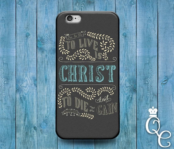 iPhone 4 4s 5 5s 5c SE 6 6s 7 plus iPod Touch 4th 5th 6th Gen Cool Bible Verse Christian Book Quote Cover Cute Philippians Christ Word Case