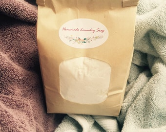 All Natural Laundry Detergent//Chemical Free Laundry Soap// Non-Toxic Laundry Soap