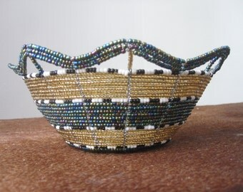 Decorative bead bowl - all proceeds go to charity