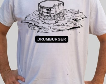 T-Shirt for drummers - Drumburger