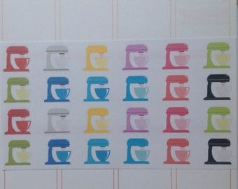 Kitchen Mixer Stickers