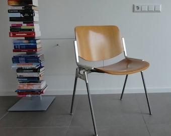 Italian Chair Castelli designed by Giancarlo Piretti 60's
