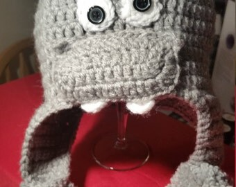 Hippo Hat - for Adults