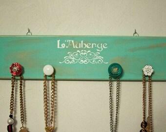 Shabby Chic Jewelry knob Hanger