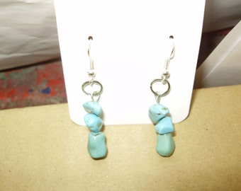 Beautiful Handmade Turquoise Earrings