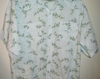 Dragonfly Western cowboy shirt Sz L