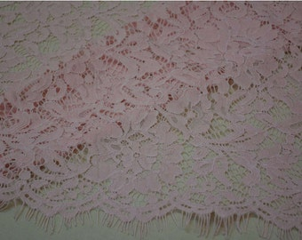 Pink cording eyelash lace fabric,african cording guipure lace fabric,wedding dress lace 150*150cm per pc