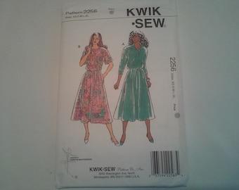 2256 Kwik Sew Pull Over Dress Sewing Pattern P06