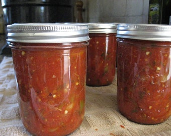 Organic Salsa (Homemade, 8 oz)